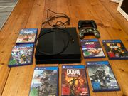 PS4 500GB 2 Controller Spiele