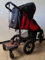 Kinderwagen mit Lascal Buggyboard