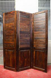 Trennwand Raumteiler Holz gebraucht