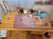 Schreibtisch Massivholz für Kinder und
