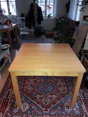 Tisch 90x90 cm ausziehbar auf