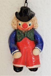 Clown aus Salzteig zum Aufhängen