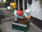 Kinder-Schaukel-Automat Kuh Elsa Kiddie-Ride Kinderschaukel-Gerät