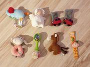 Baby Rasseln Greiflinge Schmusetücher Entdeckerspielzeug