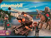 Playmobil Sechsfachballiste mit Raubrittern