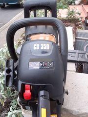 McCulloch Benzin Kettensäge CS350