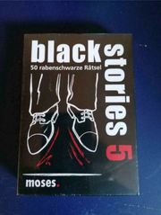 NEU OVP - Black Stories 5-50