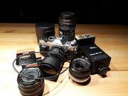 Canon Camera AE-1-Programm analog umfangreiches