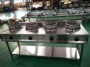 CHINAHERD Gas Wand-Modell 4 WOK