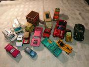 Alte Spielautos Konvolut bestehend aus