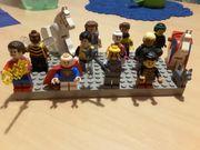 11 Legomännchen 2 Pferde 1