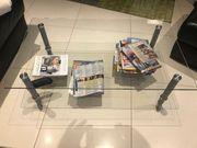 TV-Rack Glastisch Bis 60 kg