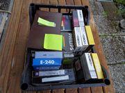 VHS Kassetten bespielt meist Schnulzen