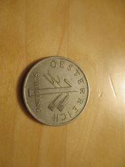 alte 1 Schilling Münze