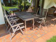 Gartensitzgruppe Eukalyptus
