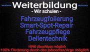 Fahrzeugfolierung Smart-Spot-repair Dellentechnik Fahrzeugpflege