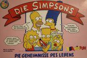 Die Simpsons Brettspiel Die Geheimnisse