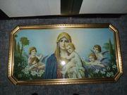 Antikes Bild MUTTER GOTTES Maria