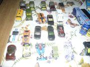 Verschiedene Spielzeug autos