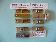 MACO-Mittelverschlüsse oben für 4mm Falzluft