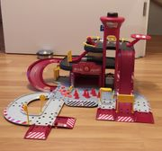 Auto-Spielteppich UND Parkhaus Rettungsstation