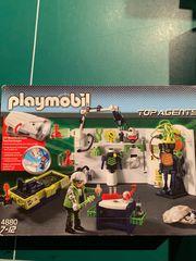 Playmobil TopAgents Robo-Gangster-Labor mit Multifunktionstaschenlampe