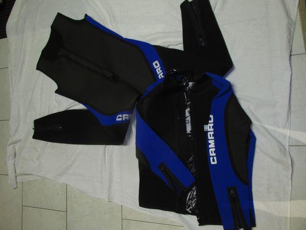 Camaro Surfanzug mit Jacke lang