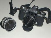 Spiegelreflexkamera analog