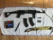 AK 47 mit Klappschaft Zubehör