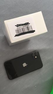 iPhone 11 256Gb Schwarz
