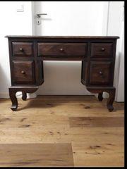 Schreibtisch Schrank Massivholz