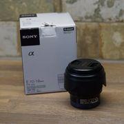 Objektiv Sony E 10-18mm F4