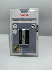 Hama Kartenlesegerät mit integriertem USB