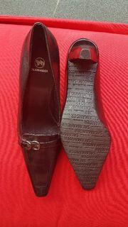 Salamander elegante schwarze Leder Schuhe