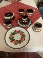 Schramberg Kaffee- Speiseservice