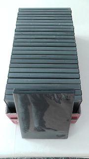 5 DVD Leerhüllen schwarz