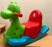 Schaukel Schaukelpferd Spielzeug Dinosaurier Schaukelpferd