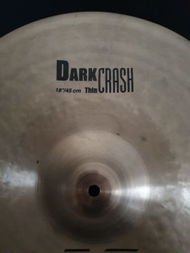 Drums, Percussion, Orff - 18 K Zildjian Dark Thin
