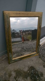 Schöner großer alter Wandspiegel Spiegel