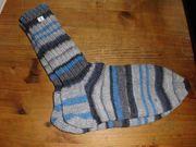Handgestrickte Socken Gr 38 39