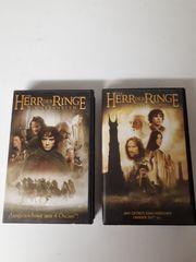 2 Videokassetten Herr der Ringe