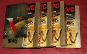 5 unbespielte originalverpackte S VHS