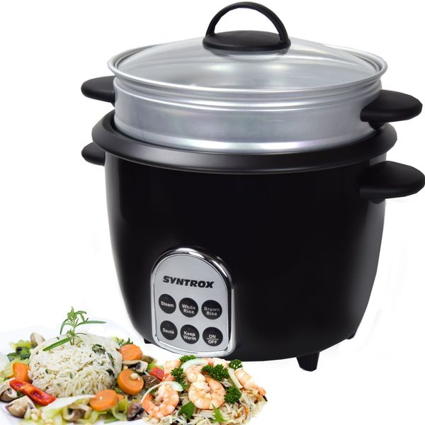 Syntrox RC-700W Gourmet Multikocher Reiskocher