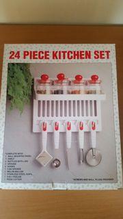 Küchenset 4 Dosen mit Deckel