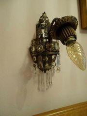 2 alte süße Nachttischlampen Wandlampen
