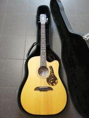 Westerngitarre Framus mit Koffer