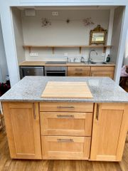 Küche Naturholz Möbelum
