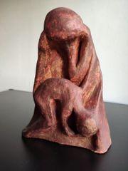 Mutter Kind Skulptur