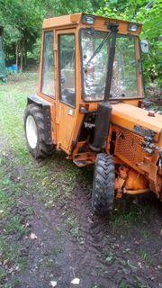 Traktor Schlepper Allrad Schanzlin 4004