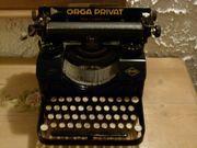 Orga Privat Antike Schreibmaschine